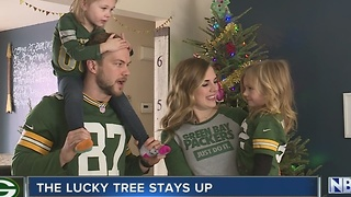Lucky Packers Christmas trees
