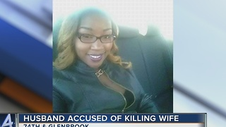 Milwaukee man allegedly shoots wife 18 times in front of their children - Video