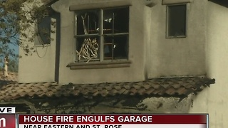 2-story home engulfed in flames - Video