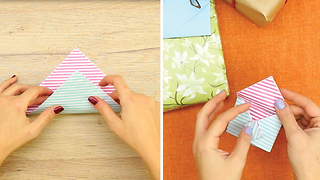 DIY Origami Greeting Card - Video