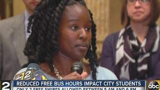 City Council members oppose changes to student MTA bus pass access - Video