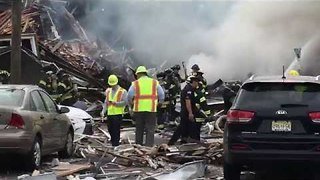 No Major Injuries Reported After Explosion Levels Two New Jersey Homes - Video