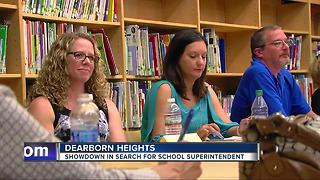 Showdown in search for Dearborn Heights school superintendent - Video