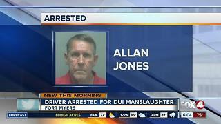 Fort Myers man charged with DUI manslaughter - Video