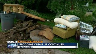 Burlington to begin debris pickup Monday - Video