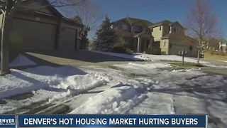 Denver home market now 3rd least affordable in the U.S. - Video