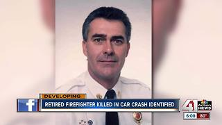 Family & fire department mourn death of retired firefighter killed in KCK crash - Video