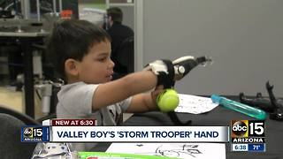 Valley boy takes love of Star Wars to whole new level