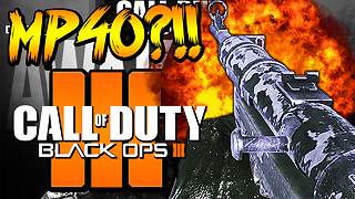 Black Ops 3: Classic MP40 weapon DLC coming soon?