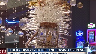 Lucky Dragon opens its doors on the Las Vegas Strip - Video
