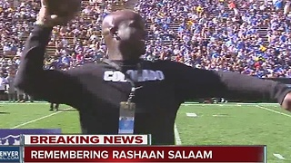 CU Heisman winner Rashaan Salaam found dead in Boulder Park - Video