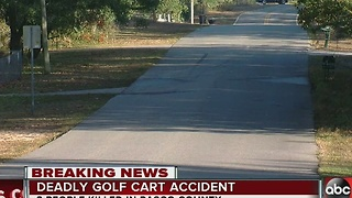 Three dead in golf cart accident in Pasco - Video