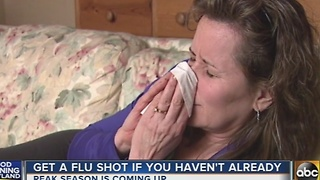 Health experts encourage flu shot ahead of peak season - Video