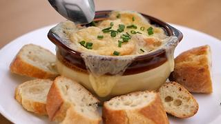 Slow Cooker French Onion Soup - Video