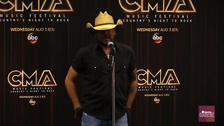 Jason Aldean talks about Father's Day | Rare Country - Video