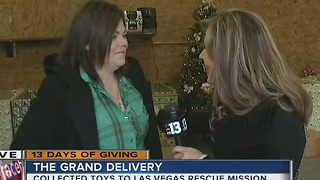 13 Days of Giving, The Grand Delivery! - Video