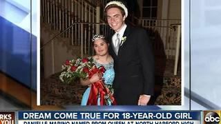 Teen with Down Syndrome crowned prom queen at North Harford High School - Video