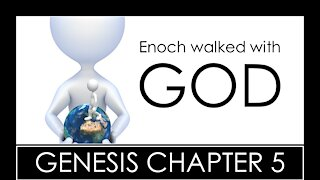 GENESIS CHAPTER 5 - BIBLE STUDY QUIZ