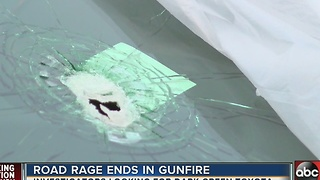 Bullet fired through windshield during road rage incident in Holiday