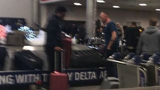 Baggage Congestion Reported After Atlanta Airport Power Outage - Video