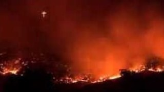 Timelapse Shows Idaho's Table Rock Fire Before Full Containment - Video
