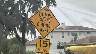 Pinellas County funding cut for speed bumps | Digital Short - Video