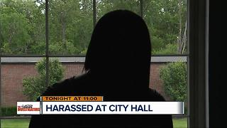 Harassed at Detroit city hall - Video