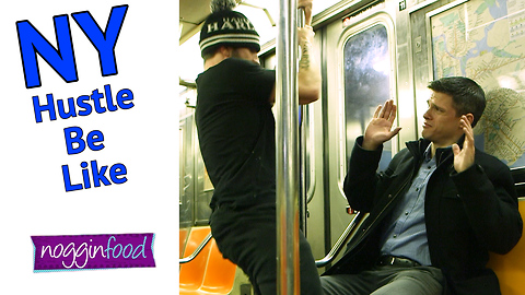 The Hustle On The New York Subway Be Like
