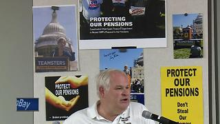 Pension Cuts Green Bay - Video