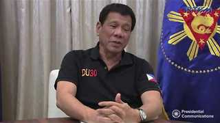 Controversial Philippines Leader Roderigo Duterte Recounts Phone Call With Trump - Video