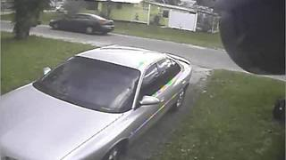 Surveillance video captures suspect vehicle - Video