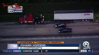 All Turnpike lanes back open in Martin County - Video