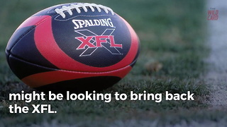 The XFL Is Reportedly Making A Comeback - Video