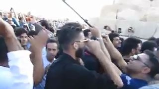 Protest gathering of thousands from across the country at Cyrus' tomb -1 - Video
