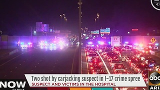 Suspect and victims still in hospital after I-17 shooting - Video
