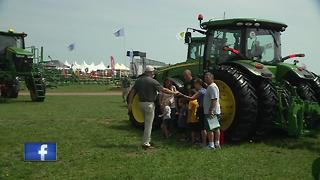 Wisconsin Farm Technology Days kicks off in Kewaunee County - Video