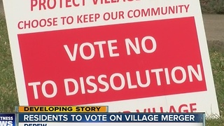 Depew residents fight over village merger - Video
