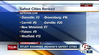 These are the safest cities in Indiana - Video