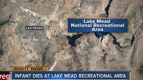 Officials investigating infant's death at Lake Mead National Recreation Area