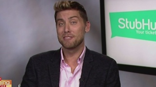 A Chat with Lance Bass - Video
