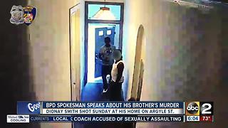 BPD spokesperson TJ Smith speaks about brother's murder - Video