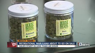 Marijuana supporters pack dispensaries as recreational sales become legal - Video