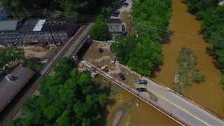 Aerial Footage Shows Extent of Damage From Ellicott City Flooding - Video