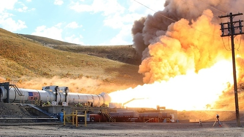 Incredible static test fire highlights from NASA