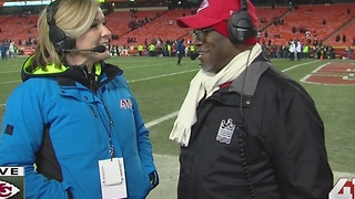 Mayor Sly James on Chiefs, Raiders matchup - Video