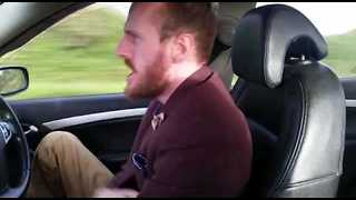 Irish Comedian's Epic Car Rant About the Dangers of a Draft - Video