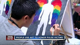 Painting with a Twist honors Pulse victims on the one year anniversary