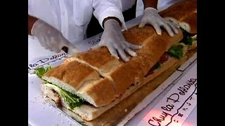 Massive Mexican Sandwich - Video