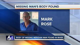 Still no cause of death determined for missing man found dead in river - Video