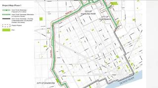 Transforming vacant land into recreational path through the city of Detroit - Video